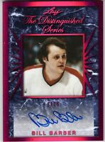 BILL BARBER 2017-18 Leaf Hockey The Distinguished Series AUTOGRAPH #2/10