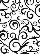 4.25 x 5.75 Darice Embossing Folder SCROLL Background 1216-62 Sizzix Cuttlebug