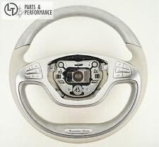Mercedes-Benz Lenkrad Holzlenkrad Esche metallisiert S-Klasse W222 A217 C217