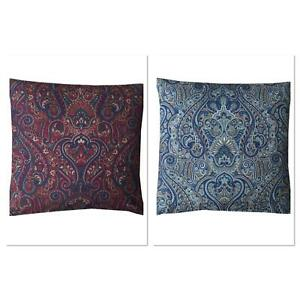 Iliv Paisley Luxury designer velvet cushion covers double sided handmade uk