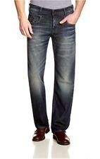 G Star NEW RADAR Low Loose Jeans in DK Aged Memphis Black Blue Denim W32/L32