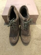 ed567fe7c7e NWB Rosegold Womens Suede Bootie Size 35.5 (5.5)
