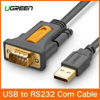 Ugreen USB 2.0 to RS232 DB9 Serial Cable A Converter Adapter PL2303 for Mac OS X