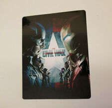 Captain America Civil War - Glossy Bluray Steelbook Magnet Cover NOT LENTICULAR
