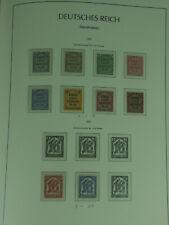 Deutsches Reich: Dienstmarken aus MiNr. 1 bis 113 ** / * postfrisch und ungebr.