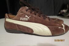 PUMA 30339008 Women's Repli Cat3 Suede Brown / White Sneaker Shoes 7 M EUR 39