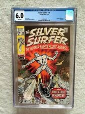 The Silver Surfer #18 CGC 6.0 WHITE pages Sept 1970 AND Free SS #1 Bonus book VF