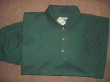 Xl Lh Forest Fabric Trap/Skeet Pad Forest 50/50 Dryblend Polo Shooting Shirt