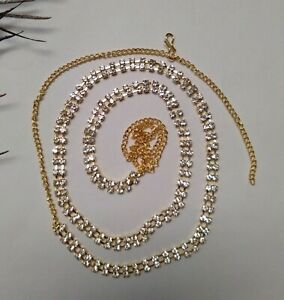 Indian Gold Plated Ethnic Woman Saree Waist Belt Kamar Bandh Party Wear Jewelry