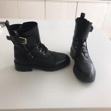 AllSaints Daria Black Boots Size 5