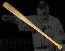 Wilford Brimley Autographed Baseball Bat The Natural W/Movie Quote Inscription 2