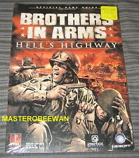 Brothers in Arms Hell's Highway New Sealed Official Guide Book PS3, Xbox 360 PC
