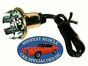 Ford Park Tail Stop Turn Signal Side Light Lamp Bulb Wiring Harness Socket D41