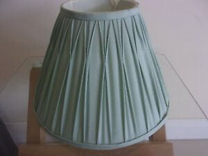 LAURA ASHLEY LAMPSHADE SILK PLEATED