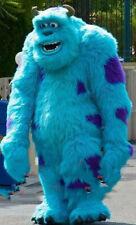 Blue Long Fur Mascot Costume Suits Cosplay Dress Advertising Xmas Easter Fursuit