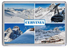 Cervinia, Ski resort Italy Fridge Magnet