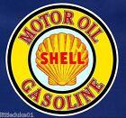 """SHELL MOTOR OIL GASOLINE"" PETROL LOGO GARAGE GAS STATION PROMO STICKER DECAL"