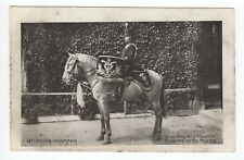"""14th (King's) Hussars Horse """"King Edward VII"""" Presented by His Majesty Postcard"""