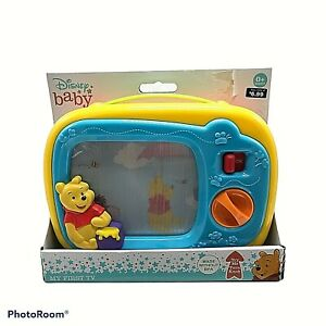 Disney Baby Winnie The Pooh: My First TV Wind-up Musical Baby Toy 299