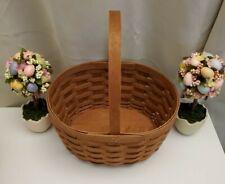 New Listing2008 Longaberger Easter Basket 2nd Quality New Oval Spring Basket Rare