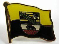 Sachsen Anhalt Flaggen Pin Anstecker,1,5 cm,Neu mit Druckverschluss