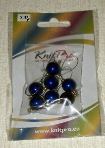 KnitPro Maschenmarkierer-Set Bluebell, neu, originalverpackt, 7er Set 10933