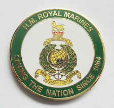 ROYAL MARINES CHALLENGE COIN