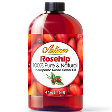 4oz Rosehip Oil by Artizen (100% PURE & NATURAL) - Cold Pressed & Fresh