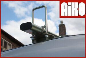 Volkswagen Crafter roof rack bars 3 bar set + door guard + load stops MSX313