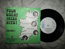 Four Great Irish hits volume 1 Mini Monster Series LMR 1001.... 45 tr/min Folk