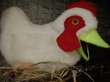 Large White Hen Chicken Ventriloquist Puppet for Poultry Education, Ministry