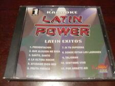 LATIN POWER KARAOKE VCD DVD VCLP-001 LATIN EXITOS SEALED
