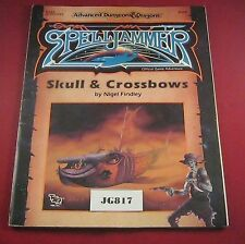 OOP AD&D 2nd Ed Spelljammer Skull and Crossbows 9286 (TSR:1990) Ref JG817