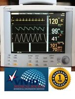 Datascope Passport 2 ECG NIBP SPO2 Color Patient Monitor Certified 1 Yr Warranty