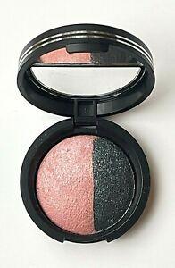 Laura Geller Baked Eyeshadow Duo - Sateen Fresco Pink / Mystic Sea Eye Rimz New