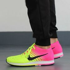 NIKE FLYKNIT STREAK OC Running Trainers Shoes Gym - UK 11 (EUR 46) Multi Color