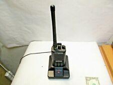 Motorola Radius P1225 VHF Portable Radio with Charging Station good used shape