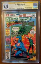 DC Comics Presents 26  CGC 9.8 (signed x3)   1st Cyborg/Raven/Starfire -> TITANS