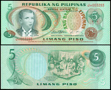 ABL 5 Pesos Marcos Fernandez STARNOTE J*003### Philippine Banknote