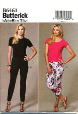 BUTTERICK SEWING PATTERN 6461 MISSES 16-24 KATHERINE TILTON PANTS IN PLUS SIZES
