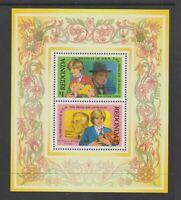 Old Stock Princess Diana Heart Tie Tac Pin On Card