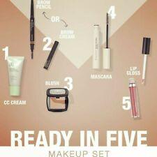 Ready in Five - Plant based, Vegan certified Makeup range.