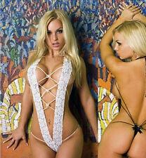 WOW Fashion Sexy Women Lace Dress Lingerie Underwear Sleepwear G-string BabyDoll