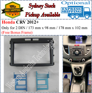 Fascia facia Honda CRV CR-V 2012+ Double Two 2 DIN Dash Kit