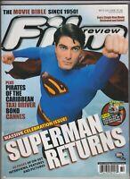 Film Review Magazine Superman Returns Brandon Routh July 2006 030420nonr2