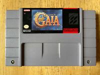 Illusion of Gaia Super Nintendo Entertainment System SNES 1994 MINT CONDITION