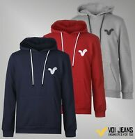 Mens Branded VOI Lightweight Kangaroo Pocket OTH Chest Logo Hoodie Size S-XXL