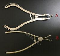 Dental Delta Clamps Ring Placer Plier Sectional Matrices Matrix Bands TOR VM