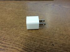Genuine OEM Apple iPhone Cube Wall Charger 5W USB Power Adapter A1385 Lot of 339