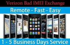 Clean Clear Fix Verizon Android / iPhone / iPad with BAD ESN MEID IMEI Service
